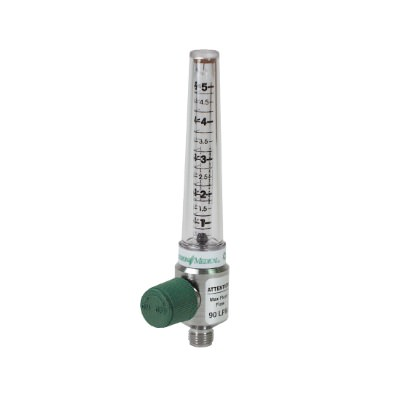 Oxygen Flowmeter 0-15 LPM / DISS Female Hand Tight