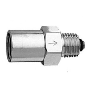 Bay Corporation Flows from1/4″ NPT Male to 1/4″ NPT Female, AB-44CVR