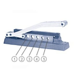 Bay Corporation Crimping Tool, Bore diameters, CR-100 Big
