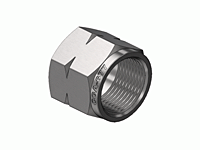 Superior N-80SS, CGA-677 Hex Nut