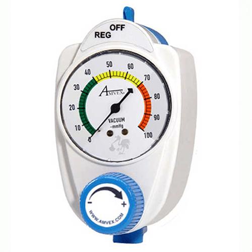 Vacuum Regulator, Amvex, 2 Mode Low Continuous, Neonatal, Analog
