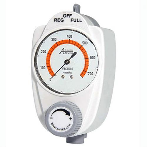 Vacuum Regulator, Amvex, 3 Mode Continuous High, Adult, Analog