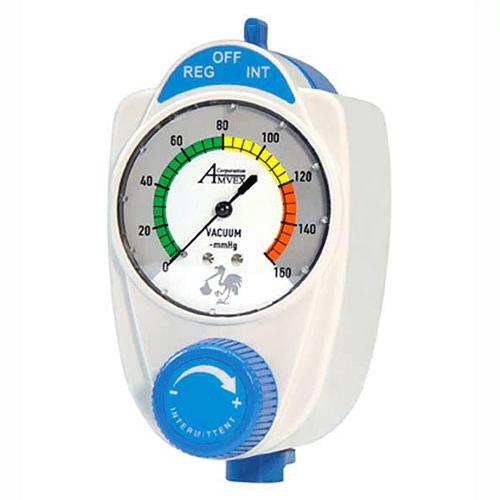 Vacuum Regulator, Amvex, Intermittent/Continuous, Pediatric, Analog