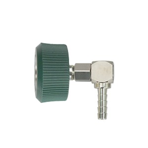 DISS Female Hand Tight, 5/16″ Hose Barb Swivel