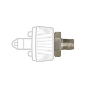 Ohmeda Style Male Quick Connects, 1/8″ NPT Male