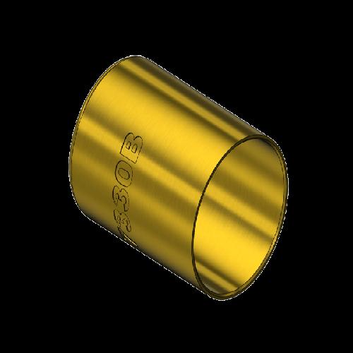 Superior 7330B, HOSE FERRULE, .718″ID, 1″LNG
