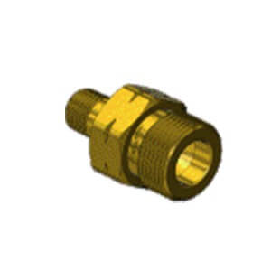 Superior A-671, A. CGA 677 TO 1/4NPT-M