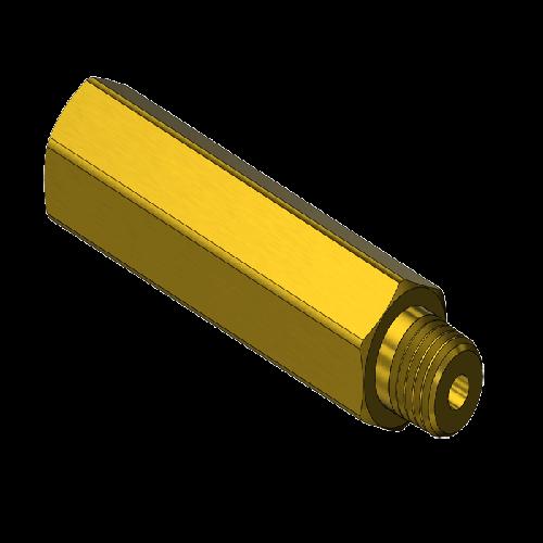 Superior B-395, EXTENDER,1/8NPTF X 1/8NPTM,2.5″L