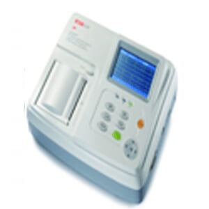 E30 EKG Machine 3-channel 12-lead ECG; HR Built-in Rechargeable Battery 4.3″ TFT LCD display Big