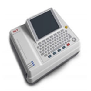 E70 EKG Machine 12-lead ECG; HR Built-in Rechargeable Battery 8″ TFT LCD display Touch Screen