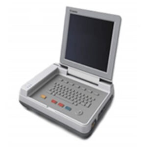 E80 EKG Machine 12-lead ECG; HR Built-in Rechargeable Battery 12.1″ TFT LCD display 2G SD memory card  Touch Screen