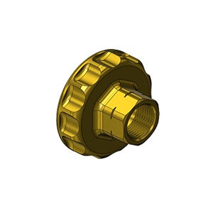 Western 6680, CGA 680 HANDTIGHT NUT