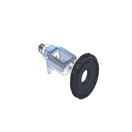 Superior MFY-965-4H, MEDICAL YOKE, 1/4NPTM, N2O-O2