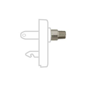 Chemetron Style Quick Connects, 1/8″ NPT Male