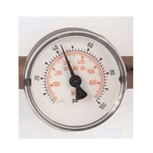 Ohio Medical 223016 – 2″ Gauge – Nitrogen (0-300 PSIG) – Valve
