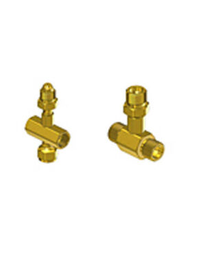 Brass Coupler Tees for Manifold