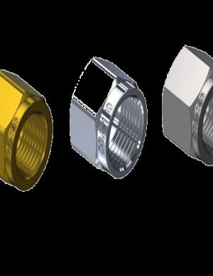 Regulator CGA Nuts - Brass, Stainless, Chrome
