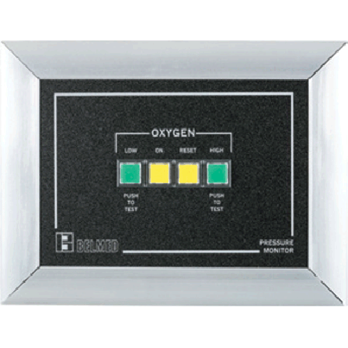 Belmed 3200-W, Oxygen Wall Alarm Kit Big