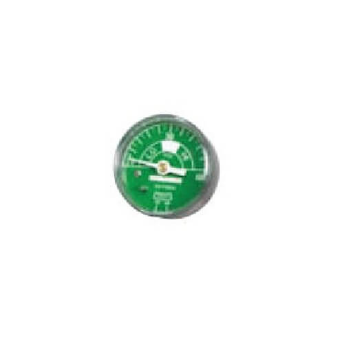 Belmed 4000-6O2, Oxygen Gauge 2 Diameter Male 1/4 NPT C.B. Connection