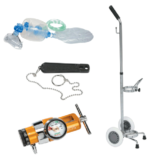Belmed 5048, Manual Resuscitator, Portable System