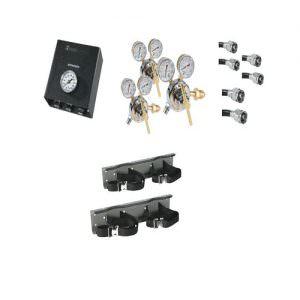 Belmed 8183, 3 Nitrogen Cylinders System