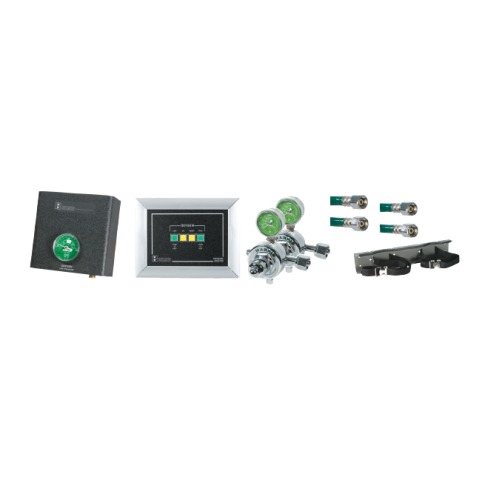 Belmed 2020-W, 2 Oxygen Cylinders Wall Alarm System