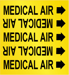 Medical Air Labels
