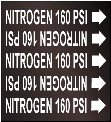 Seton Pipe Marker NITROGEN 160 PSI