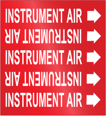 Instrument Air Labels