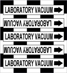 Seton Pipe Marker Laboratory Vacuum