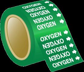 Seton Pipe Marker Oxygen