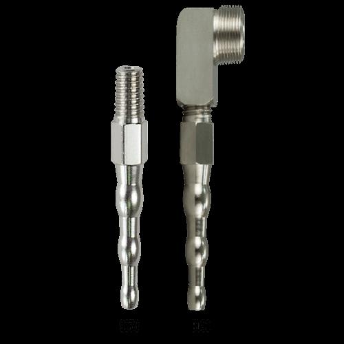 Precision Medical 9090, 90 Tubing Nipple(for Vacuum Regulator)