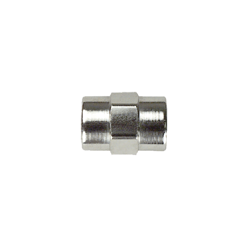 Precision Medical 7028, Coupler, 1/4 NPTF x 1/4 NPTF