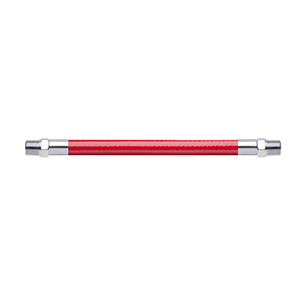 Hose Assembly; Instrument Air; Non Conductive (1/4″); Red; 1/8 NPT Male Pipe Thread; 1/8 NPT Male Pipe Thread