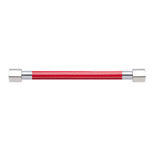 Hose Assembly; Instrument Air; Non Conductive (1/4″); Red; 1/8 NPT Female Pipe Thread; 1/8 NPT Female Pipe Thread