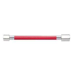 Hose Assembly; Instrument Air; Non Conductive (1/4″); Red; 1/8 NPT Female Pipe Thread; 1/4 NPT Female Pipe Thread