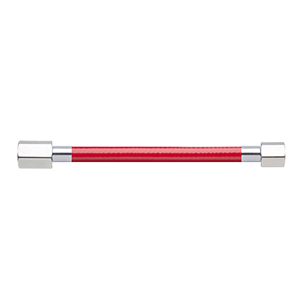 Hose Assembly; Instrument Air; Non Conductive (1/4″); Red; 1/4 NPT Female Pipe Thread; 1/8 NPT Female Pipe Thread