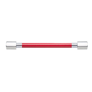 Hose Assembly; Instrument Air; Non Conductive (1/4″); Red; 1/4 NPT Female Pipe Thread; 1/4 NPT Female Pipe Thread