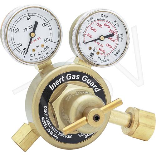Harris Industrial 3000432, REG, 25GX-60-IGG-320 CO2 – Model 25 IGG – Flowgauge Regulator with Inert Gas Guard