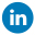 Linkedin footer icon
