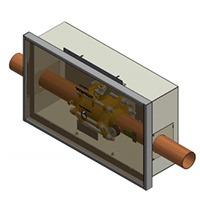 Powerex PX-SVU19G-06, Single valve zone valve box with 3″ valve
