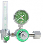 GenTech Flowmeter Regulators Diaphragm-type Regulator with 0-15 LPM Flowmeter, CGA 540 Inlet 195M-15
