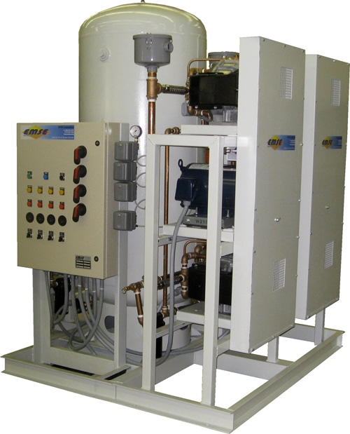 EMSE Scroll Medical Air Plants Including Desiccant Air Dryers Duplex Systems 3DOHS7.5PT200D
