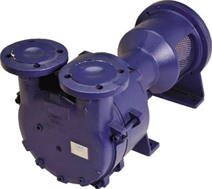 Ohio Medical Single Stage Vacuum Pumps with NEMA Flange with motor installed SL200A 263316