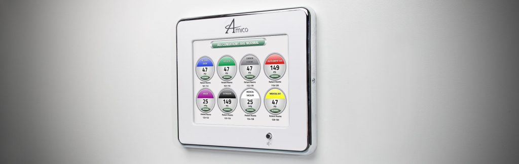Amico  LCD Ethernet Area Alarm  A4AC-S-W
