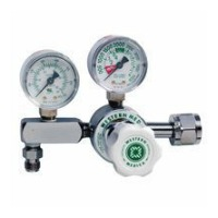 Western  Oxygen Regulator – CGA 540 Nut and Nipple – Pressure Gauge – M1-540-PG Thumb 2