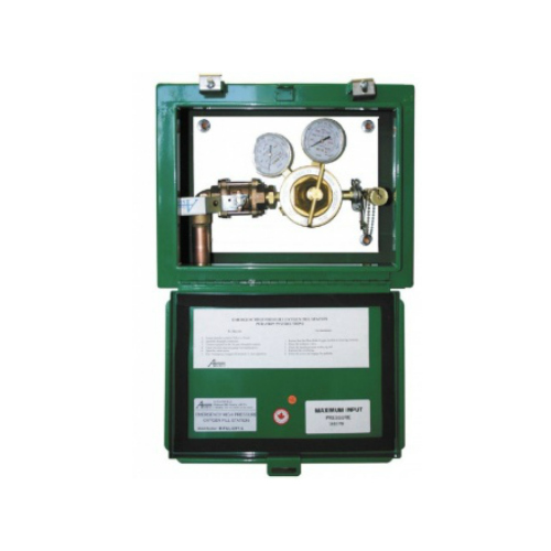 Surface Mount Emergency Oxygen Inlet Station (High Pressure)