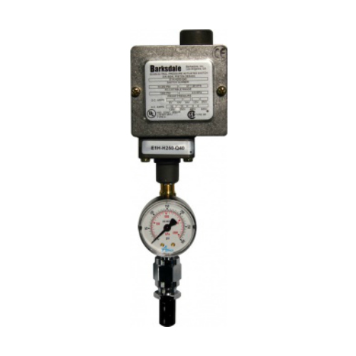 Pressure Switch Gauge Assembly for Instrument Air