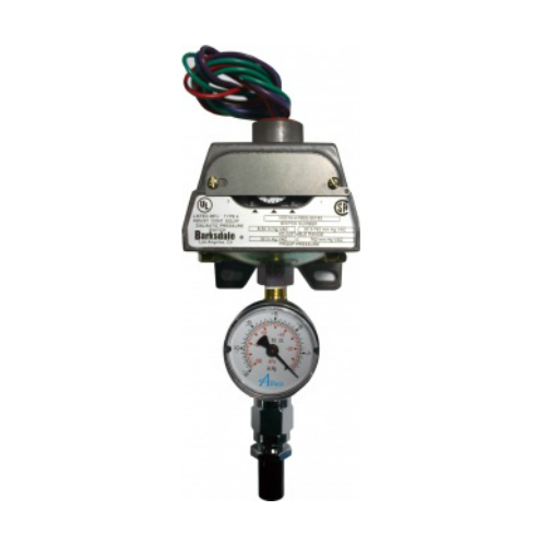 Pressure Switch With Gauge (WAGD)